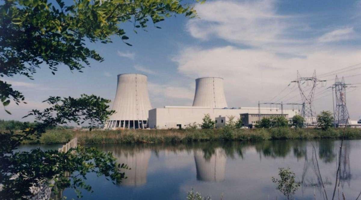 La centrale Enel di Trino