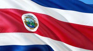 La bandiera del Costa Rica