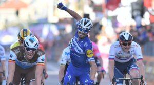 Julian Alaphilippe vince la Milano-Sanremo
