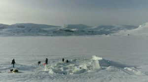 Strutture di ghiaccio sciolte
