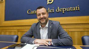 Il vicepremier Matteo Salvini