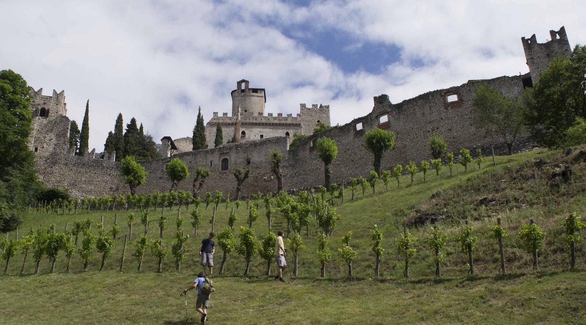 Castello di Avio vicino Trento