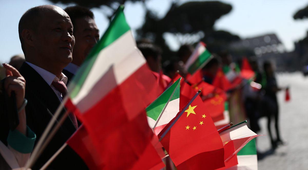 Italia Cina accordo Via della Seta