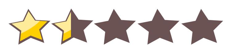 1 stella e mezza