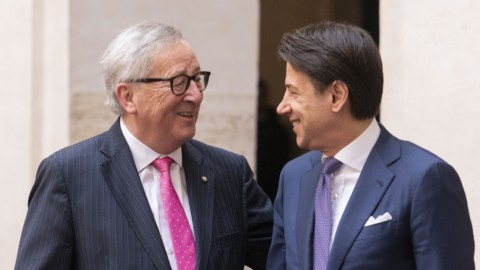 "Juncker: ""All'Italia servono sforzi supplementari per crescere"""