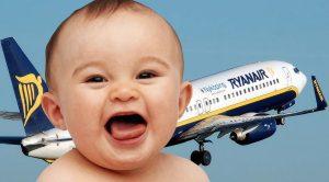 Ryanair e neonato