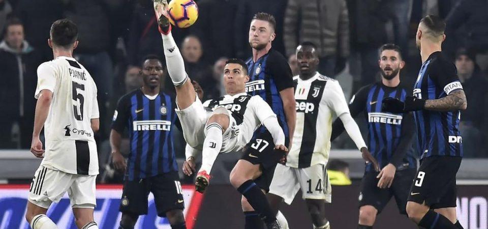 Derby d'Italia: Inter per la Champions, Juve per il record