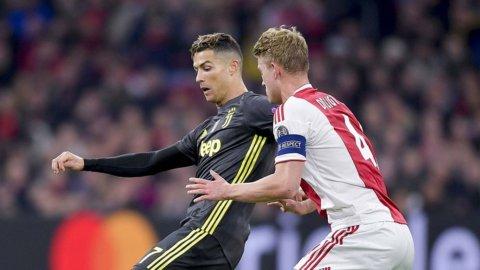 Champions, Juve: CR7 segna ancora ma l'Ajax non molla (1-1)