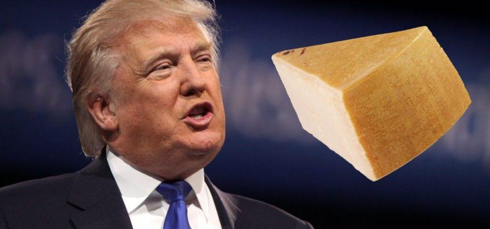 Dazi Usa anti-Ue picchiano su formaggi e prosciutto italiani