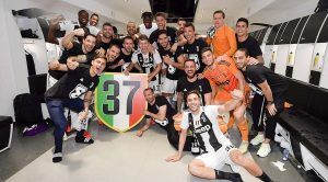 Scudetto Juventus festeggiamenti