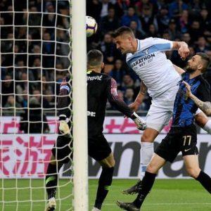 Terremoto Champions: la Lazio castiga l'Inter, ko Roma e Milan