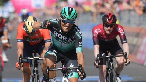 Giro d'Italia: tappa a Benedetti ma la classfica  parla sloveno