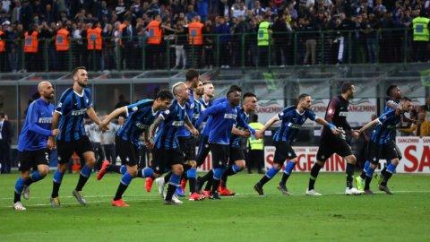 Inter e Atalanta in Champions, Milan e Lazio in Europa League, Empoli in B