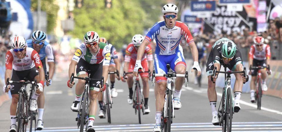 Giro d'Italia: Demare beffa Viviani a Modena