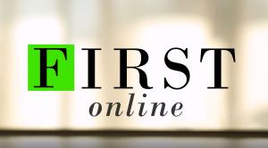 Copertina FIRSTonline con logo