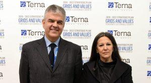Luigi Ferraris e Catia Bastioli Ad e presidente di Terna