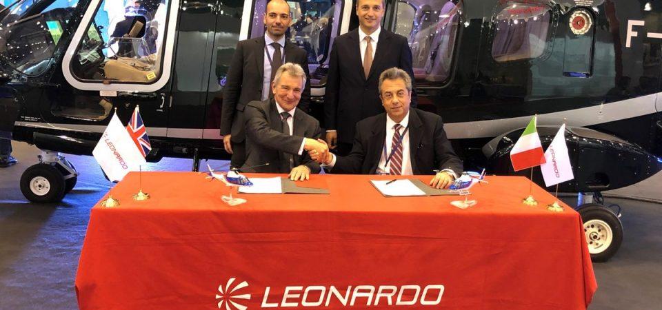 Leonardo, elicotteri: con Sloane rinnovo contratto in UK