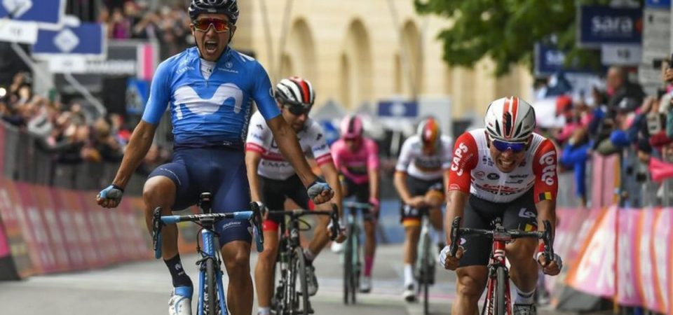 Giro d'Italia, caduta nel finale: Roglic allunga, Dumoulin arretra