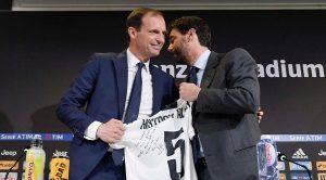 Allegri e Agnelli Juventus