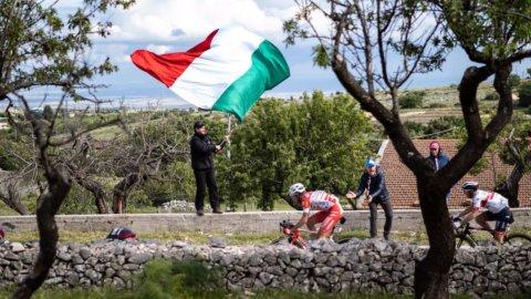 Giro d'Italia: Conti in rosa e tappa a Masnada, en plein italiano