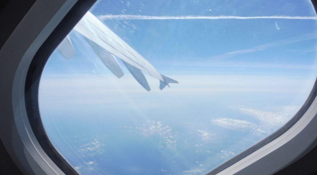Ascesa durante un volo parabolico