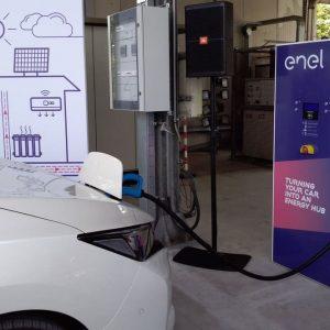 Ricariche auto elettrica, Hyundai sceglie Enel X