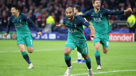 Champions pazzesca e tutta inglese: Tottenham elimina Ajax