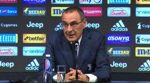 Maurizio Sarri, allenatore Juventus