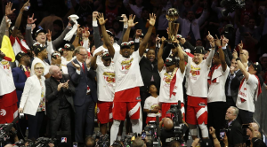 I Toronto Raptors vincono l'Nba