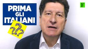 """Intervista a Riccardo Chiaberge su """"Prima gli italiani"""""""