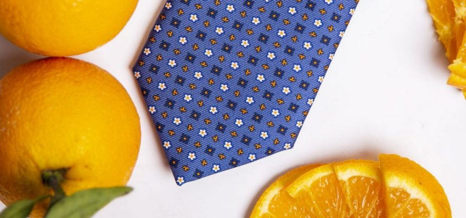 """Su First&Food la bagna caoda """"da bere"""" e la cravatta… all'arancia"""
