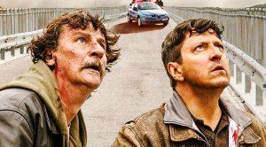 Ricky Memphis e Giorgio Tirabassi nel film Il grande salto