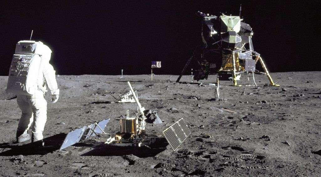 Aldrin sulla Luna