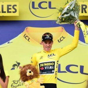 Tour: Teunissen prima maglia gialla, beffato Sagan
