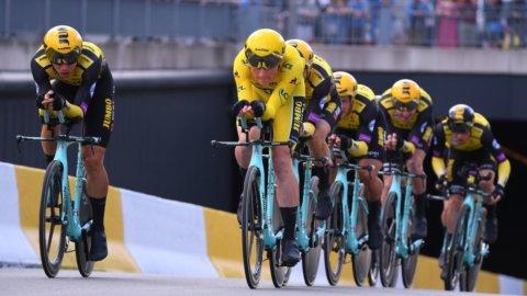 Tour: super Teunisse e Krujiswjick nella crono a squadre
