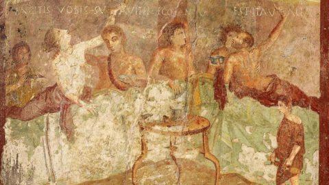 Last supper in Pompeii: a Oxford la mostra sull'eruzione del Vesuvio
