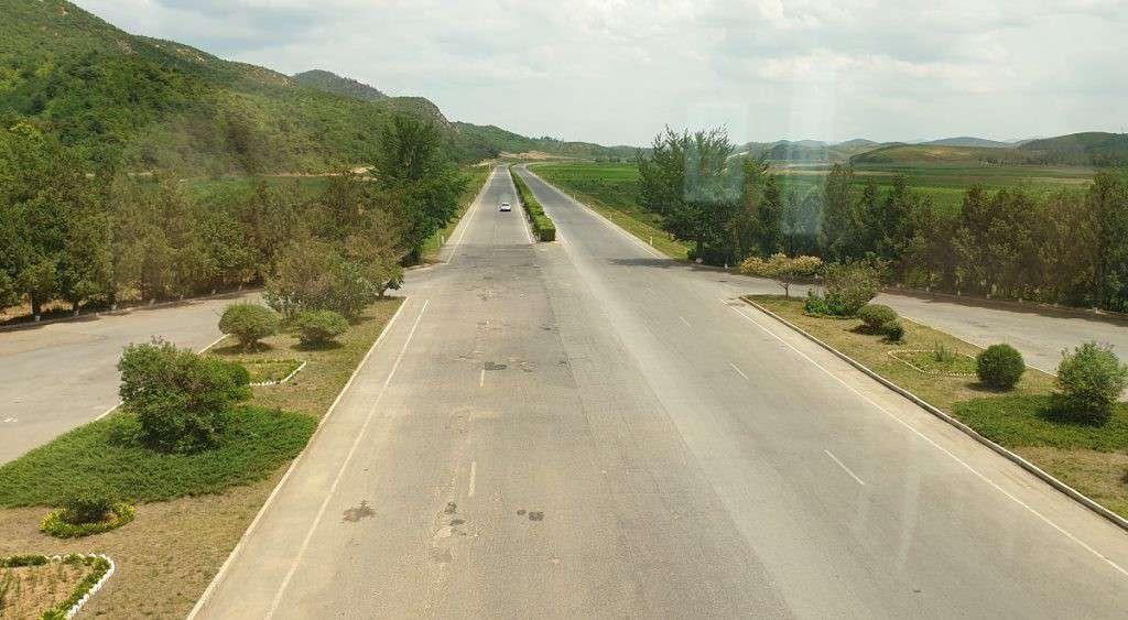 Autostrada in Nord Corea
