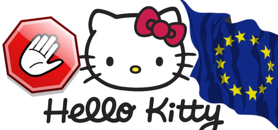 Hello Kitty, stangata Ue: multa milionaria dall'Antitrust