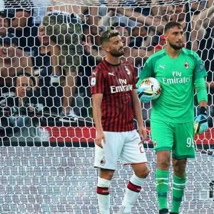 Milan e Roma steccano la prima, grande Lazio, stasera debutta l'Inter