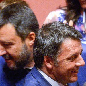 "Salvini: ""Rifarei tutto"". Renzi: ""Avete fallito"""