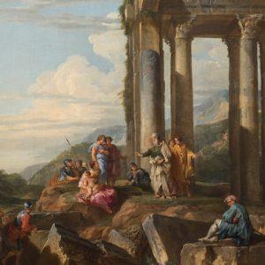"""BIAF: Splendido """"Capriccio romano"""" di Giovanni Paolo Panini"""