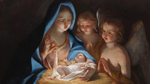 """BIAF: Incantevole e inedita """"Madonna con Bambino e due angeli"""" di Giovanni Lanfranco"""
