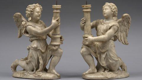 BIAF: Sopraffina coppia di angeli di Gian Giacomo e Guglielmo della Porta