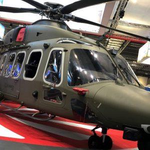 Al Salone di Londra Leonardo presenta l'elicottero di ultima generazione