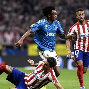 Champions: la Juve spreca la vittoria a Madrid, l'Atalanta crolla al debutto