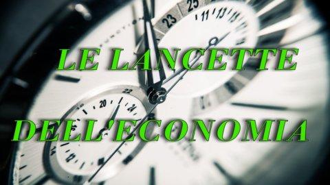 Le lancette dell'economia