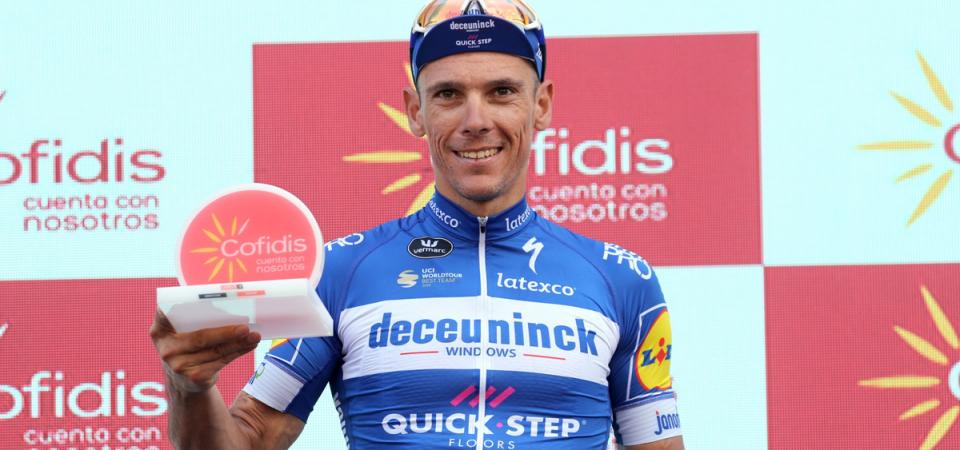 Vuelta: bis di Gilbert, Quintana risale al secondo posto