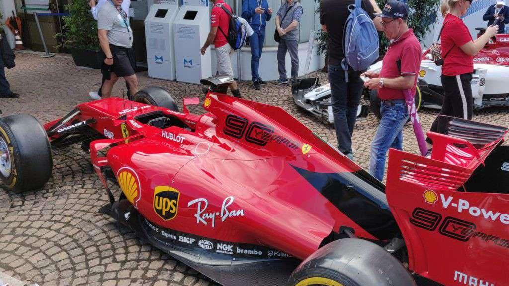 La livrea della Ferrari