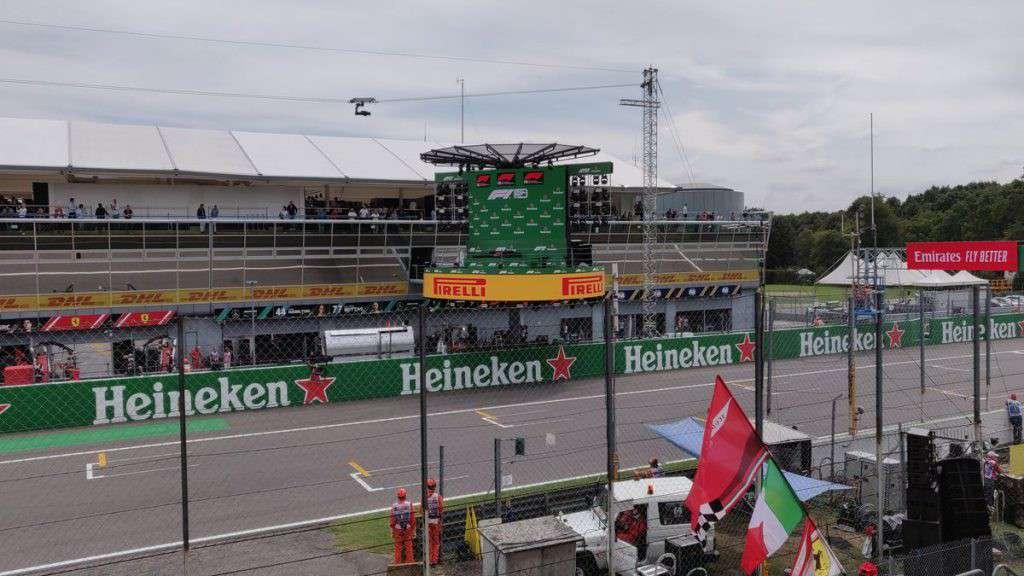 Podio Gran Premio di Monza