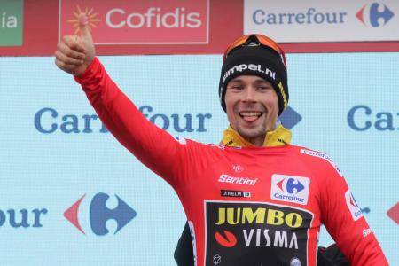 Vuelta: Roglic padrone della corsa a 5 tappe da Madrid